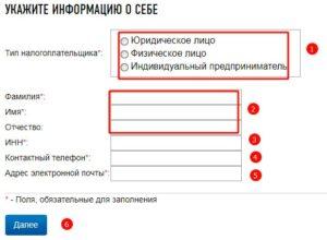 Электронная запись в налоговую инспекцию