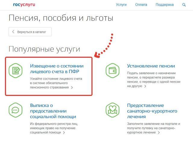 Узнать свой пенсионный балл онлайн личный кабинет пенсионного фонда через госуслуги красноярск